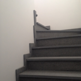 Natural stone staircase covers based on your preferences.